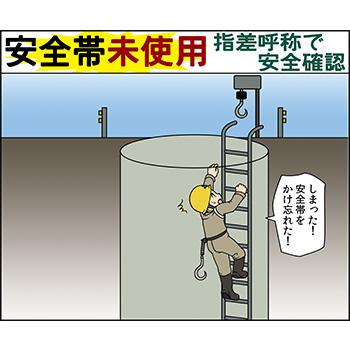 A-3.安全帯未使用・指差呼称で安全確認