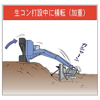 B-11.生コン打設中に横転(加重)