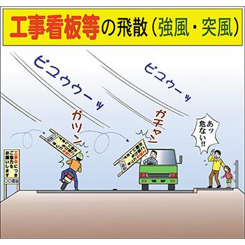 C-7.工事看板等の飛散(強風・突風)