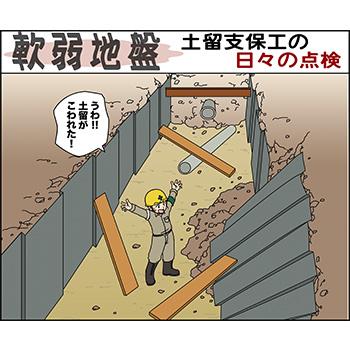 E-3.軟弱地盤・土留支保工の日々の点検