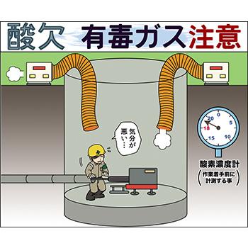 G-1.酸欠・有毒ガス注意