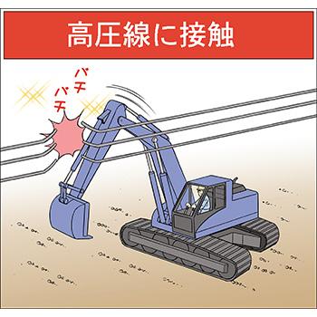G-4.高圧線に接触